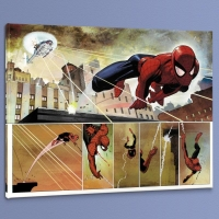 "John Romita Jr. ""The Amazing Spider Man #584"" Limited Edition 24x18 Giclee on Canvas"