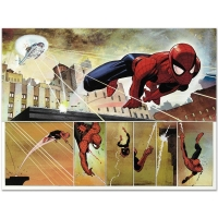 """John Romita Jr. """"The Amazing Spider Man #584"""" Limited Edition 24x18 Giclee on Canvas at PristineAuction.com"""