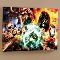 """What If? #200"" Limited Edition 18x24 Giclee on Canvas by Dave Wilkins and Marvel Comics"