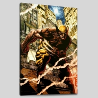 """""""Wolverine Enemy of the State MGC #20"""" Limited Edition 18x27 Giclee on Canvas by John Romita Jr. and Marvel Comics"""