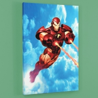 """""""Iron Man: Iron Protocols #1"""" Limited Edition 18x27 Giclee on Canvas by Ariel Olivetti and Marvel Comics"""