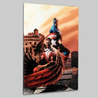 """Captain America & The Falcon #5"" Limited Edition 18x27 Giclee on Canvas by Steve Epting and Marvel Comics"