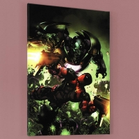 """Deadpool #3"" Limited Edition 18x27 Giclee on Canvas by Clayton Crain and Marvel Comics"