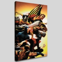 """Uncanny X-Men: First Class #5"" Limited Edition 18x27 Giclee on Canvas by Roger Cruz and Marvel Comics"