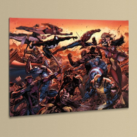 """""""New Avengers #50"""" Limited Edition 18x24 Giclee on Canvas by Billy Tan & Marvel Comics"""