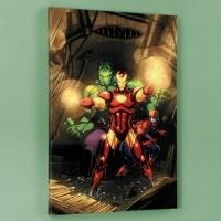"""Secret Invasion #7"" Limited Edition 18x27 Giclee on Canvas by Leinil Francis Yu and Marvel Comics"