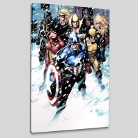 """Free Comic Book Day 2009 Avengers #1"" LIMITED EDITION 18x27 Giclee on Canvas by Jim Cheung & Marvel Comics"