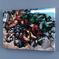 "John Romita Jr. & Marvel Comics ""Son of Marvel: Reading Chronology"" Limited Edition 24x18 Giclee on Canvas"