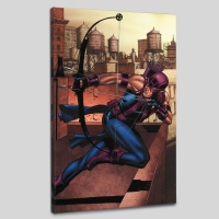 """""""Marvel Adventures Super Heroes #14"""" Limited Edition 18x27 Giclee on Canvas by David Williams & Marvel Comics"""