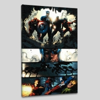 """""""Amazing Spider-Man #523"""" LIMITED EDITION 18x27 Giclee on Canvas by Mike Deodato Jr. and Marvel Comics"""