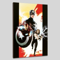 """""""Ultimates #1"""" LIMITED EDITION 18x27 Giclee on Canvas by Kaare Andrews and Marvel Comics"""