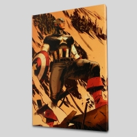 """Operation Zero-Point #1"" LE 18x27 Giclee on Canvas by Mitchell Breitweiser and Marvel Comics"