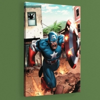 """Marvel Adventures: Super Heroes #8"" LE 18x27 Giclee on Canvas by Clayton Henry and Marvel Comics"