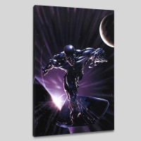 """Silver Surfer #10"" Limited Edition 18x27 Giclee on Canvas by Clayton Crain and Marvel Comics"