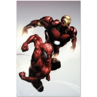 """Carnage #1"" Limited Edition 18x27 Giclee on Canvas by Clayton Henry and Marvel Comics at PristineAuction.com"