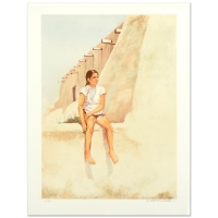 "William Nelson Signed ""Isleta Indian Girl"" Limited Edition 22x29 Lithograph at PristineAuction.com"