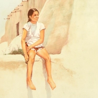 """William Nelson Signed """"Isleta Indian Girl"""" Limited Edition 22x29 Lithograph at PristineAuction.com"""