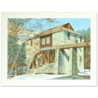 "William Nelson Signed ""The Mill"" Limited Edition 22x29 Serigraph at PristineAuction.com"