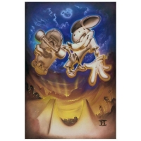"Noah Signed ""Grind Mouse"" LE 18x27 Giclee on Canvas"