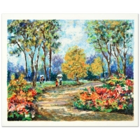 """Dimitri Polak """"In the Park"""" Signed Limited Edition 15x12 Serigraph"""