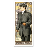 """""""International Tailoring"""" Hand-Pulled 15x34 Lithograph by the RE Society at PristineAuction.com"""