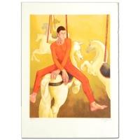 "Daniel Riberzani Signed ""Carousel"" Limited Edition 21x30 Lithograph at PristineAuction.com"