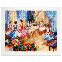 """Michael Rozenvain Signed """"Ballet Studio"""" LE 13x17 Serigraph at PristineAuction.com"""