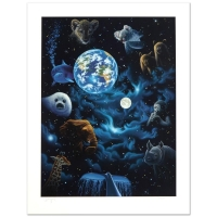 "William Schimmel Signed ""All the World's Children"" Limited Edition 22x30 Serigraph at PristineAuction.com"