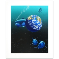 """William Schimmel Signed """"Our Home Too II (Dolphin)"""" Limited Edition 28x34 Serigraph at PristineAuction.com"""