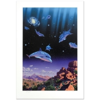 "William Schimmel Signed ""Ocean Dreams"" Limited Edition 25x36 Giclee"