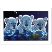 "William Schimmel & Siegfried and Roy Signed ""Secret, Mystery & Hope"" LE 36x24 Giclee on Paper at PristineAuction.com"