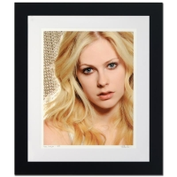 "Rob Shanahan Signed ""Avril Lavigne"" Limited Edition 26x30 Custom Framed Giclee"