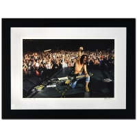 """Rob Shanahan Signed """"Eddie Van Halen"""" LE 32x25 Custom Framed Giclee"""