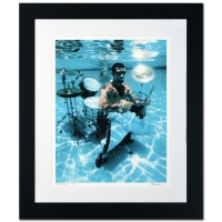 "Rob Shanahan Signed ""John Dolmayan"" Limited Edition 25x30 Custom Framed Giclee"