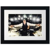 "Rob Shanahan Signed ""Mick Fleetwood"" LE 32x25 Custom Framed Giclee"