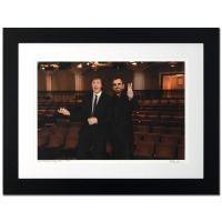 "Rob Shanahan Signed ""Paul McCartney & Ringo Starr"" Limited Edition 25x32 Custom Framed Giclee"
