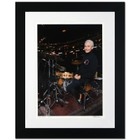 "Rob Shanahan Signed ""Charlie Watts"" Limited Edition 25x31 Custom Framed Giclee"