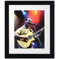 """Rob Shanahan Signed """"Dave Matthews"""" LE 26"""" x 30"""" Custom Framed Giclee"""