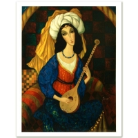 """Sergey Smirnov """"Scheherazade"""" Signed Limited Edition 26x35 Mixed Media on Canvas at PristineAuction.com"""