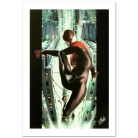 "Stan Lee Signed ""Ultimate Spider-Man #2"" Limited Edition 18x27 Giclee on Canvas by Kaare Andrews and Marvel Comics"