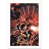 """New Avengers #11"" Limited Edition 18x27 Giclee on Canvas by Mike Deodato Jr. and Marvel Comics"