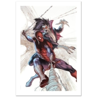 """Stan Lee Signed """"The Amazing Spider-Man #622"""" Limited Edition 18x27 Giclee on Canvas by Simone Bianchi and Marvel Comics"""