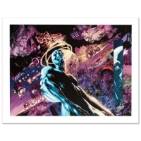 "Stan Lee Signed ""Silver Surfer: In Thy Name #3"" LE 24"" x 18"" Giclee on Canvas by Tan Eng Huat & Marvel Comics"
