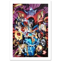 "Stan Lee Signed ""New Avengers #51"" Limited Edition 18x27 Giclee on Canvas by Billy Tan and Marvel Comics"