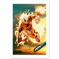 """Stan Lee Signed """"Ultimate Fantastic Four #54"""" LE 18x27 Giclee on Canvas by Billy Tan & Marvel Comics"""