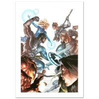 """Stan Lee Signed """"Age of X: Universe #2"""" Limited Edition Giclee on Canvas by Simone Bianchi and Marvel Comics"""