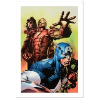 "Stan Lee Signed ""Avengers #501"" LE 18x27 Giclee on Canvas by David Finch & Marvel Comics"