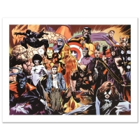 """Stan Lee Signed """"Marvel 1985 #6"""" Limited Edition 24x18 Giclee on Canvas by Tommy Lee Edwards & Marvel Comics"""
