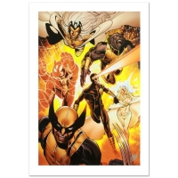 "Stan Lee Signed Marvel Comics ""Astonishing X-Men #35"" Limited Edition 18x27 Giclee on Canvas by Phil Jimenez"