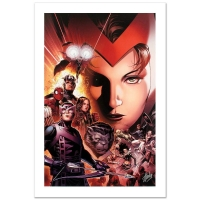 "Stan Lee Signed ""Avengers: The Children's Crusade #6"" Limited Edition 18x27 Giclee on Canvas by Jim Cheung & Marvel Comics"